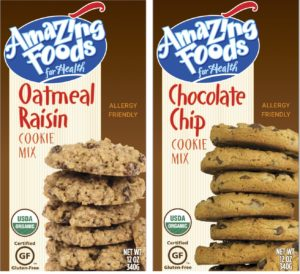 Amazing foods cookies