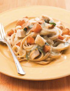 Butternut Pasta with Sage Cream Sauce crop 2