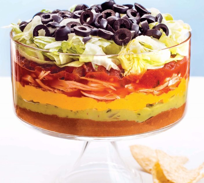 Recipes allergic living allergy friendly mexican 7 layer dip forumfinder Images