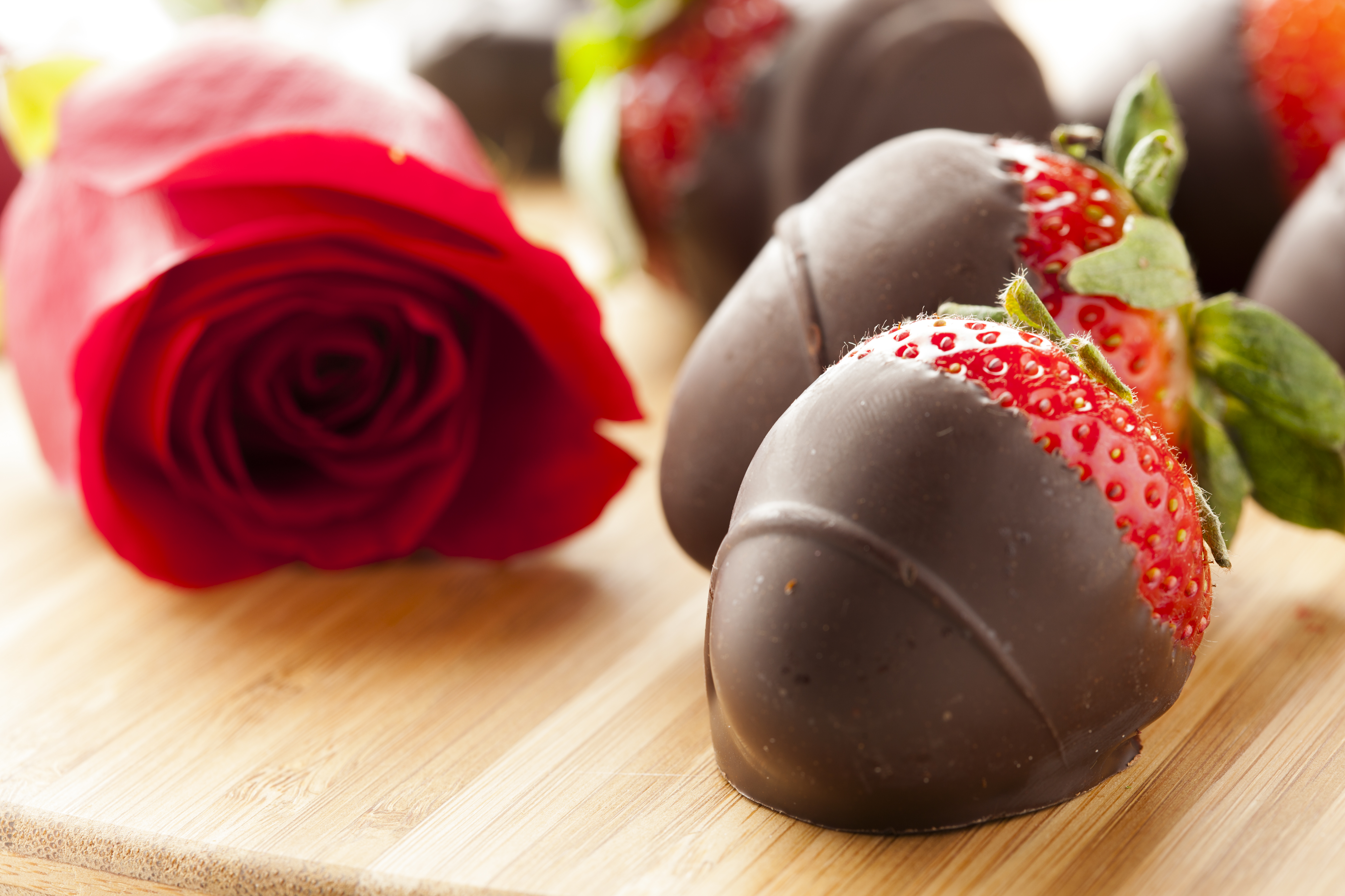 Dairy Free Chocolate Dipped Strawberries