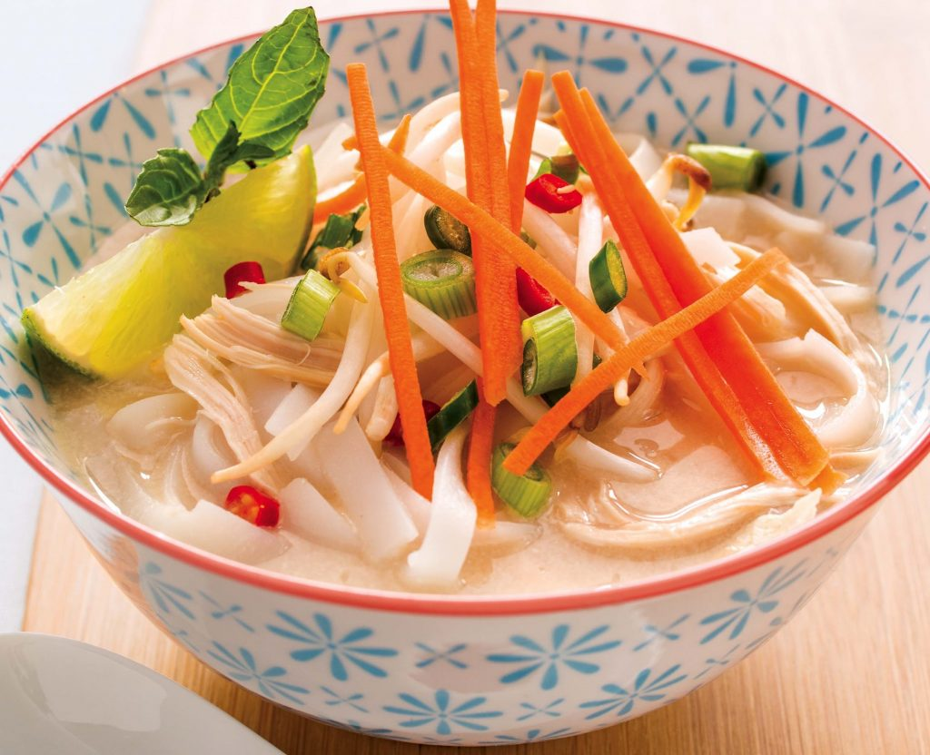 Vietnamese Style Lemongrass Chicken Noodle Soup Allergic Living