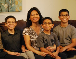 sarah thomas and family