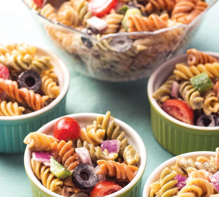 Recipes allergic living allergy friendly creamy pasta salad forumfinder Choice Image
