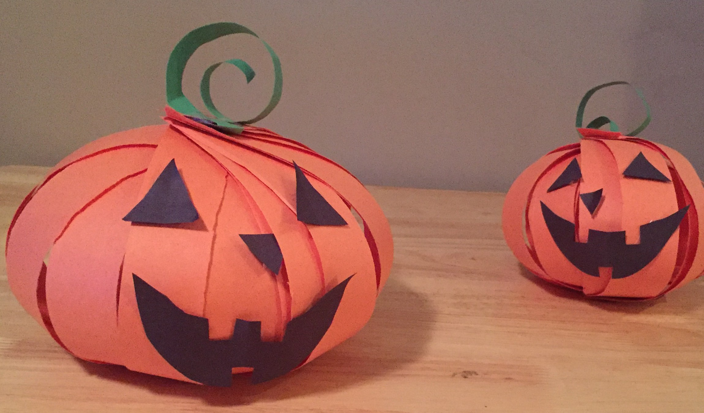 It is a photo of Geeky Halloween Pumpkins Crafts