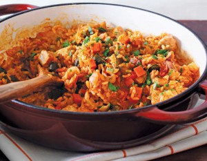 Double Smoked Bacon Paella