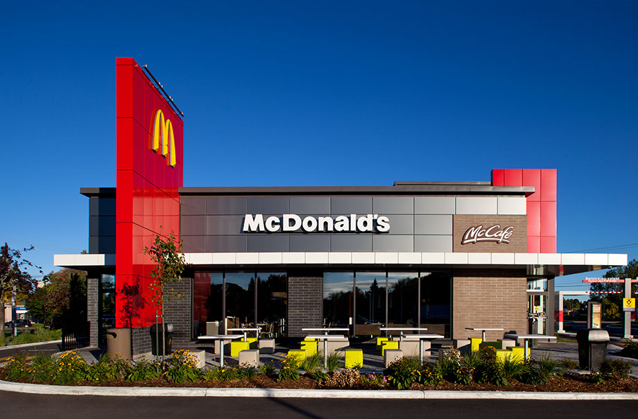 Mcdonald 39 s canada comes to the table after allergy for Mcdonalds exterior design