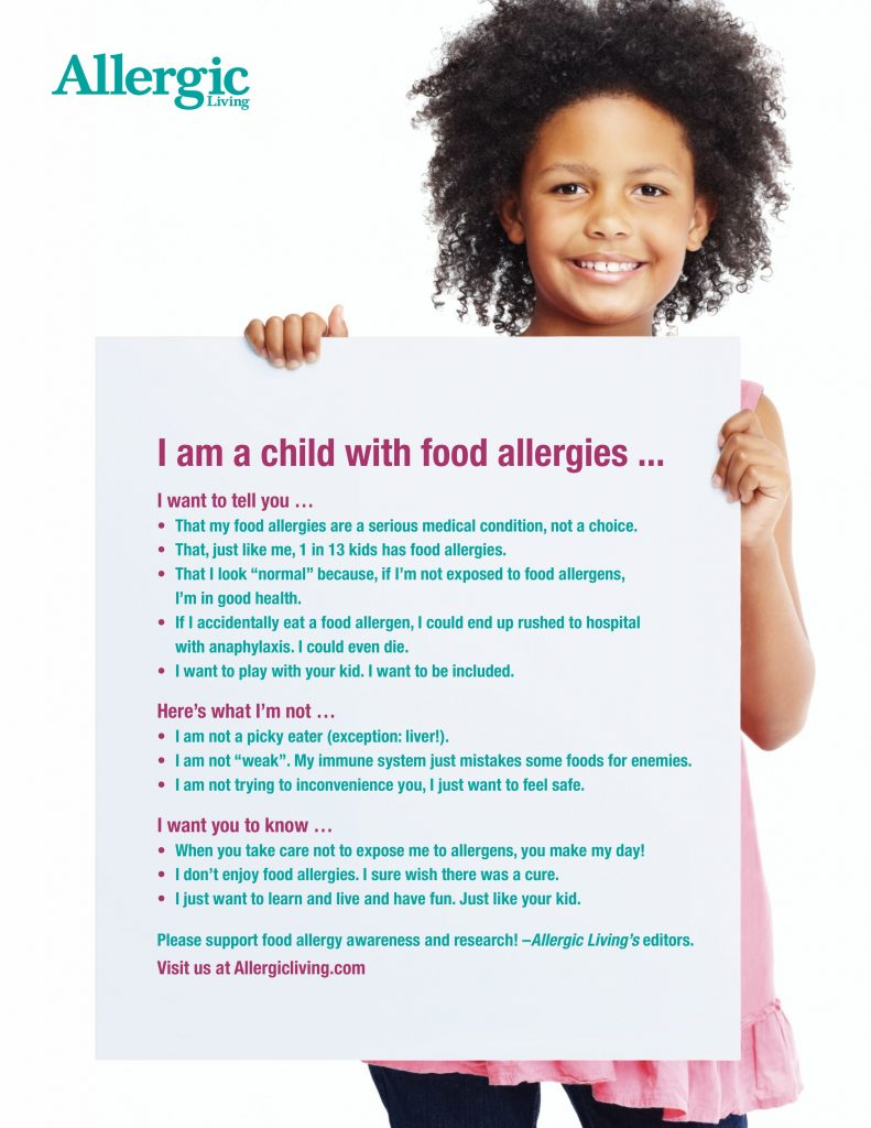 Food Allergy, Celiac & Asthma Awareness Month Tool Kit 2018