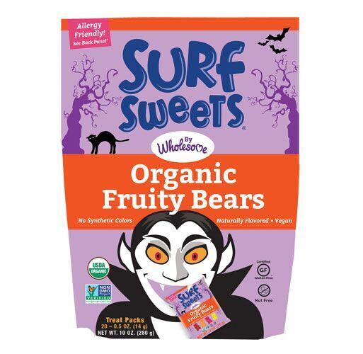 Surf Sweets Organic Fruity Bears Mini Bags