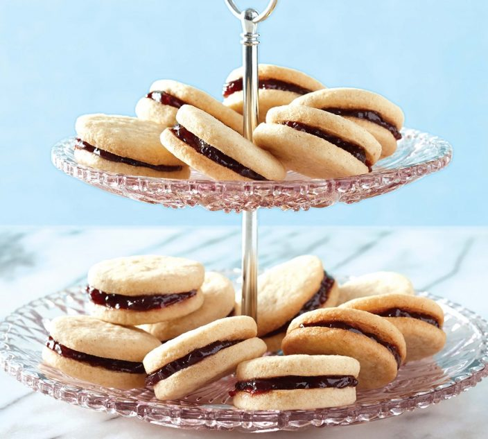Recipes allergic living vanilla raspberry sandwich cookies forumfinder Images