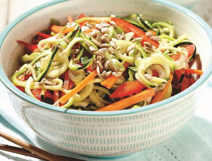 Recipes allergic living zucchini thai noodle salad forumfinder Images