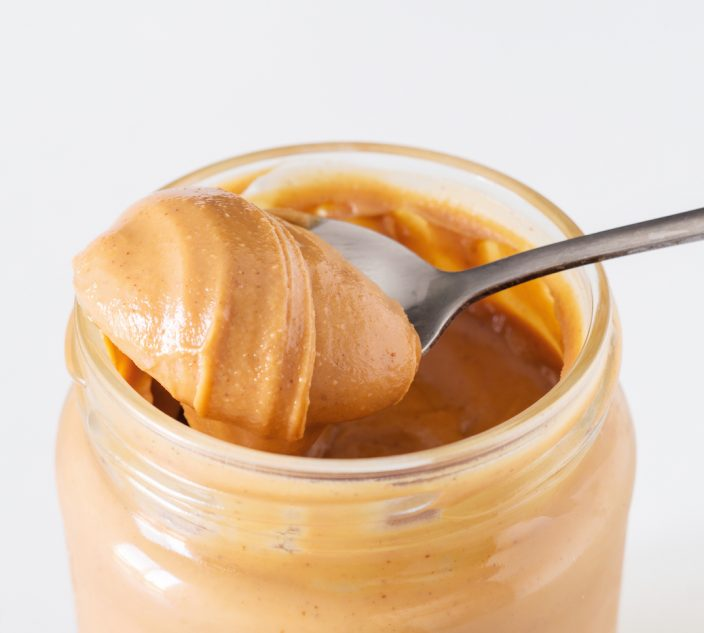 Jar of peanut butter. Part of the proximity food challenge.