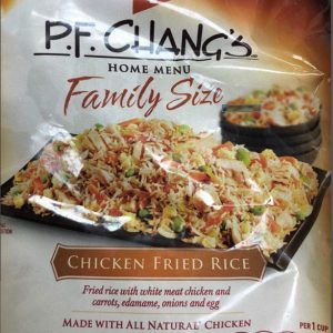 P.F. Chang's packaging.