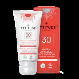 Attitude: Mineral Sunscreen SPF 30