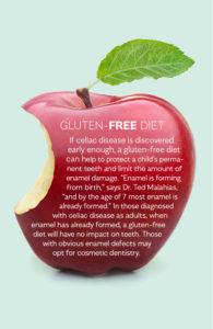 Gluten-free diet and celiac.