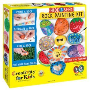 Hide & Seek Rock Painting Kit