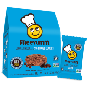 FreeYumm's soft-baked bars and cookies
