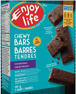 Enjoy Life Chew Bars treats