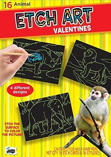 Etch Art Valentine's kit by Mello Smello
