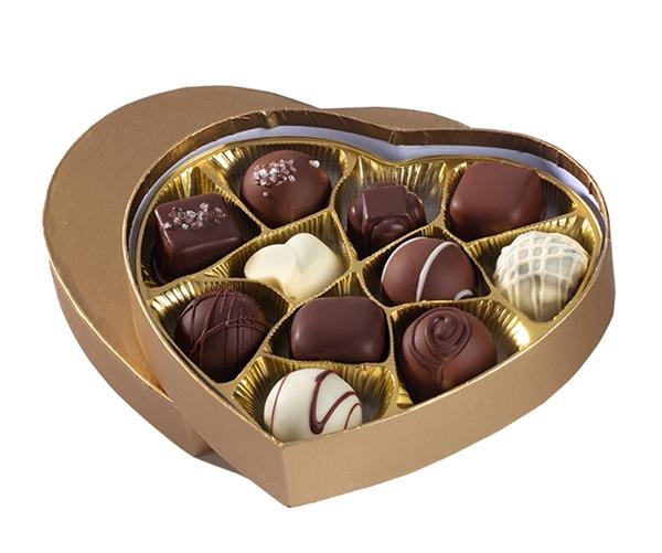No Whey! Foods' Valentine's Day Chocolate hearts