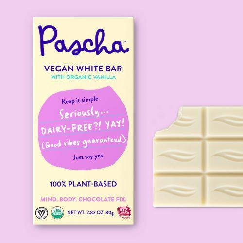 Pascha Vegan White Bar treats