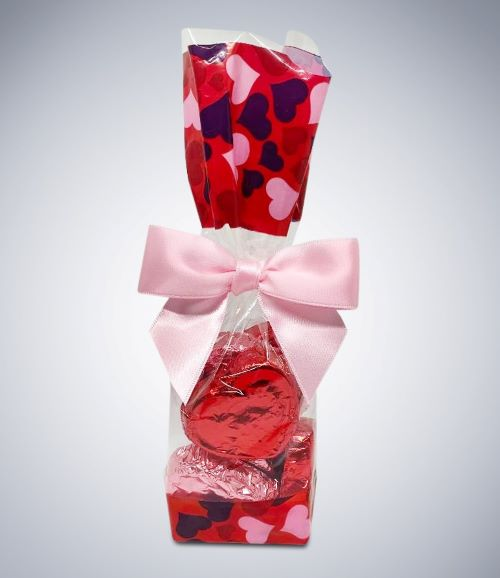 Safe Sweets Valentine's Day gift bag of treats