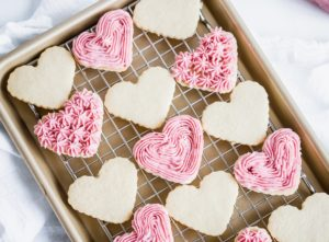 Valentine's Heart Sandwich Cookies